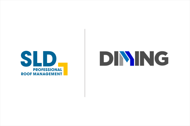 Logo SLD and DIMING D.O.O. Authorized Service Partner for Slovenia region
