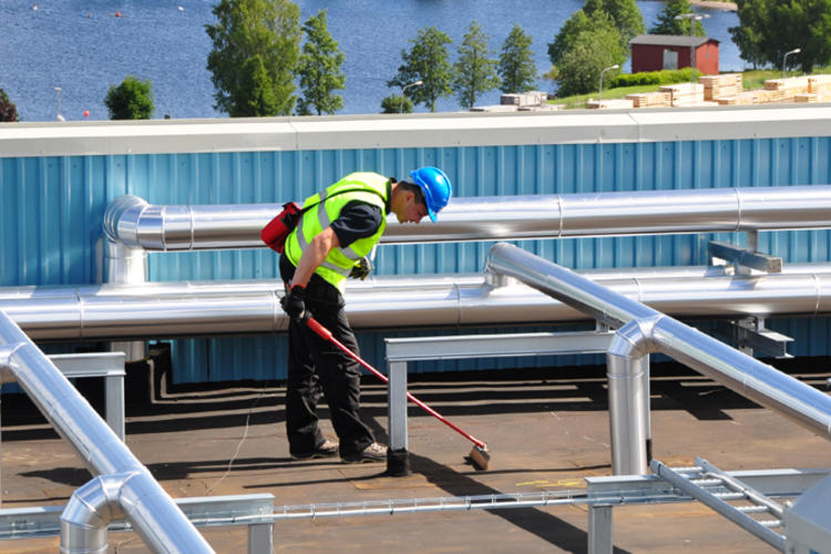Roof maintenance according to the RPP standard