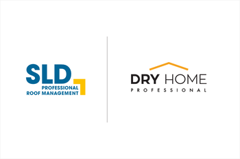 Logo SLD und Dry-Home Roof Managment Sp.z o.o. SLD Authorized Service Partner for Polish market.